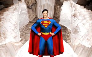 Superman in the Fortress by klavious5