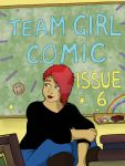 Team Girl Comic Cover - Volume 6 by The-Mysterious-MJ