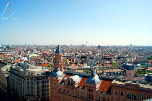 from the rooftops of vienna by AlaasDesigns