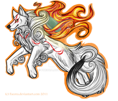Amaterasu by Faeora