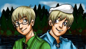 APH: Estonia and Finland by Monkey-sama