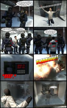 CounterStrike comic by LupineWarlord