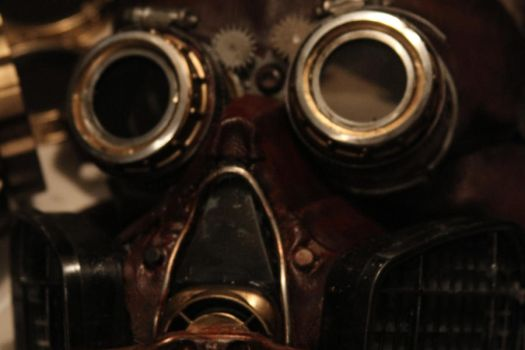 Steampunk Costumes by gryphonsegg