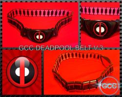 The GCC Deadpool Belt V.3 by Cadmus130