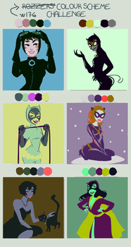 w176's Color Thing - Catwoman by aninael