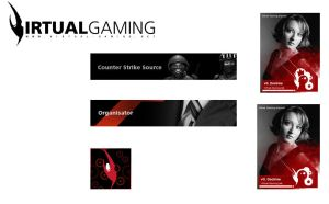 Virtual-Gaming Logotype + more by fERs