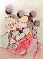 Count Mickey Dragul and Mina by nula18