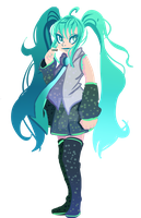 Miku by KingdomKeyX