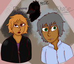 [makes designs for characters i made for a story] by NekoKitty447