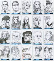 Sketch Cards: The Avengers 50th Anniversary by JasonShoemaker