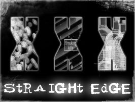 Straight Edge - wallpaper by x-vegan-x