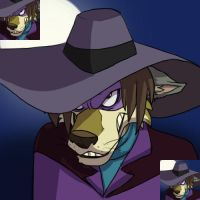 Darkwing Dog Icon by PumpkinHipHop
