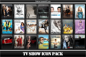 TV Show Icon Pack 18 by FirstLine1