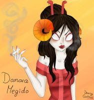Damara Megido by Drawing-Heart