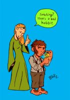 worst LOTR pun EVER by Bob-Rz