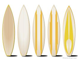 Surfboards by hotpixel69