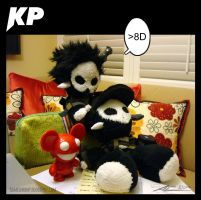 KP Plushies - Hat Steal Attempt 2 by Nanaga