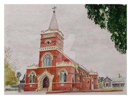 Queen of Angels, Thebarton, South Australia by gypsysnail
