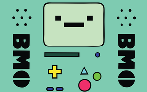 Adventure Time - Beemo Wallpaper Pack by ABC-123-DEF-456