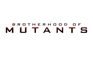 X-MEN: BROTHERHOOD OF MUTANTS - LOGO by MrSteiners