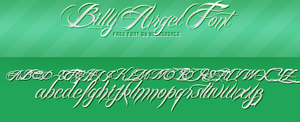 Billy Argel Free Font by YourSource