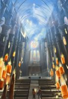 Commission - Cathedral by Alda-Rana