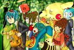RySpirit Coloring Contest - Lost Woods Adventures by aaniie