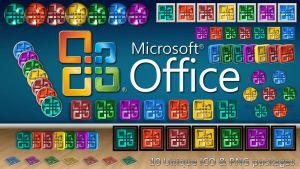 MS Office Logo ICO and PNG Pack by creativecraig