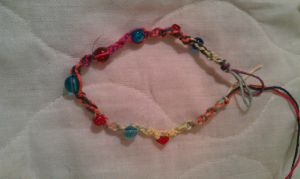 Busy Anklet by RebelInABox