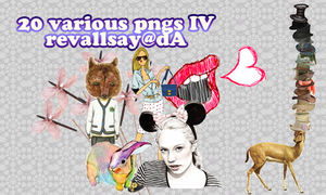 20 various pngs VI by revallsay