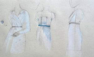 COSTUMES STUDY FOR 'IL COLOMBRE' by alikik89