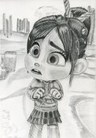 Vanellope's confrontation... by artistsncoffeeshops