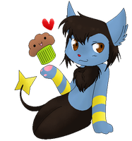 Kitty the Muffin by X3kittymuffinX3