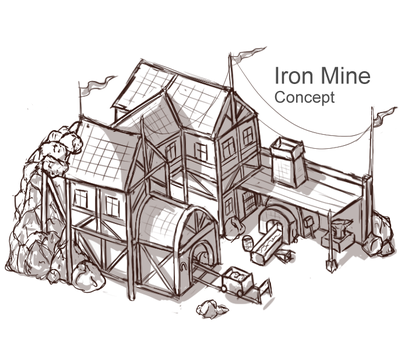 Iron Mine Concept by Sun-Dragoness