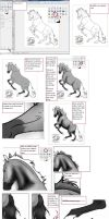 Easy lineart coloring tutorial by Horse-Lover95