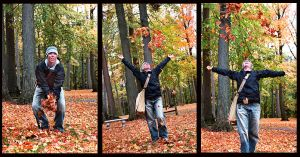 Throwing Leaves by torifanning