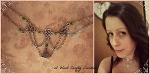 HANDMADE - Celtic Chocker by IWantCandyCreation