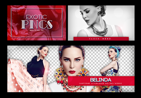 Pack Png 674 // Belinda. by ExoticPngs