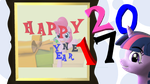 Happy New Year 2017 everypony! by M3G4-P0N1