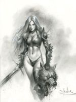 Siamh-and-the-werewolf-3 by sebastien-grenier