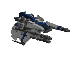 Olympus AC-46 Hunchback Assault Craft by MittenNinja