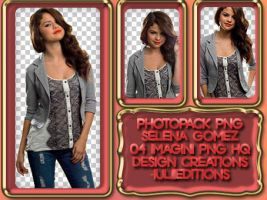 Pack of PNG Selena Gomez by DesignCreationsOffi