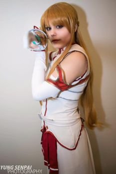 I'm your opponent! [Asuna] by KiraTheUsagii