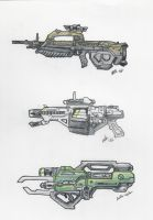 Halo - UNSC Weapons 1 by ninboy01