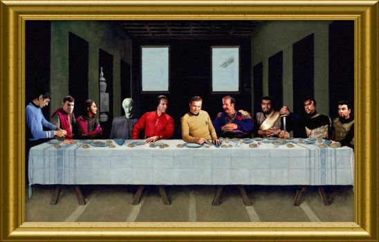 Star Trek TOS Last Supper by Brandtk