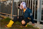 Future Trunks Cosplay by Leon Chiro to Roma Comics by LeonChiroCosplayArt