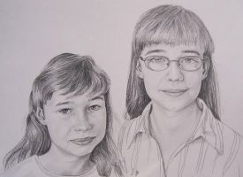 Lisa and Nadine by monbaum