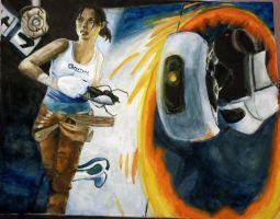 Portal 2 by Meorow