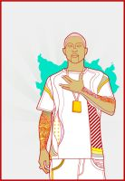 Pharrell Williams by willylorbo
