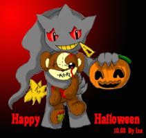 Teddy and Jubby in Halloween by Ixa-Chan